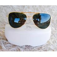 Óculos De Sol Lobo Branco Vip Aviador Clássico
