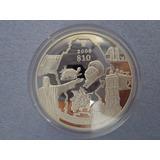 Moneda $10 Coahuila Serie Estados 2a Fase Plata .999