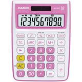 Casio Ms-10vc Standard Função De Calculadora, Cor-de-rosa
