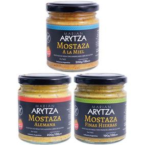 Pack Arytza X3 A Elección: Mostazas, Salsas, Chimi, Curri..