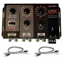 Crossover Taramps Crx Compact 2 Vias + 2 Cabos Taramps 40 Cm