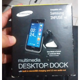 Base De Escritorio Multimedia Para Samsung Infuse 4g
