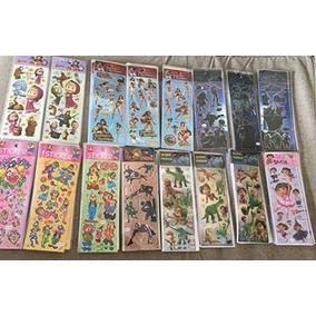 1 Lote De 10 Planchas Stickers Chicas X Mayor Disney Y Mas
