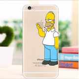 Carcasa Iphone 4 4s 6 6s Plus Homero Simpson