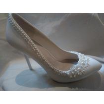 Zapatos Importados Ideal Novias, Únicos! Nro: 38 Nuevos