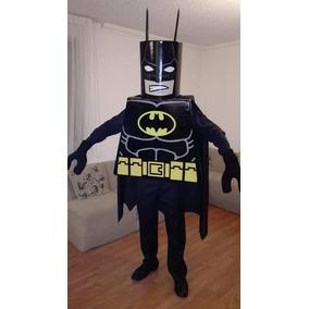 Disfraz Lego Batman Adulto Y Gatubela Fiesta Halloween