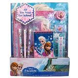 Juguete Frozen Elsa Y Anna 11 Pieza De Útiles Escolares Not