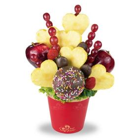 Bouquet De Manzana 14 De Febrero - Arreglo Frutal Comeme