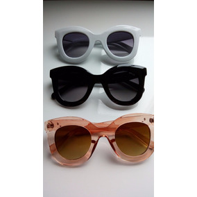 1485f9d220367 Oculos De Sol Feminino Armaçao Branca - Óculos no Mercado Livre Brasil