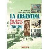 Libro Manual Un Historia Para Pensar 1776 1996 Kapeluz Ebook