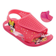 Sandália Infantil Ipanema Momentos Disney Baby -26444 -rosa