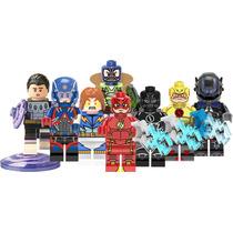 Genial Set Atom Cosmic Reverse Flash Compatible Con Lego