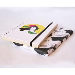 Cuaderno A5 (15x21cm) Amarillo- Tienda Puro Diseño
