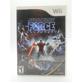 Star Wars The Force Unleashed Wii/ Wii U Original Física