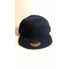 Gorra Visera Plana Snapback Azul/p Ny Yankees
