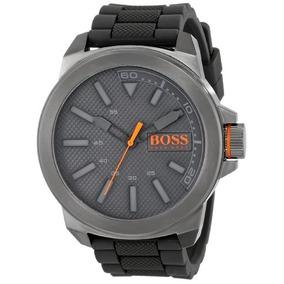 2f13e7121483 Boss Orange Hombre Nueva York Reloj De Acero Inoxidable Y