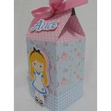 Caixa Milk Alice Pais Das Maravilhas Baby Personaliz 20 Unid