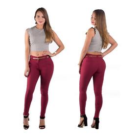 Pantalones Colombianos Jeans Dama Para Vestir Mujer Push Up
