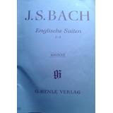 J. S. Bach Partituras / Englische Suiten 1 - 3 Urtext Verlag