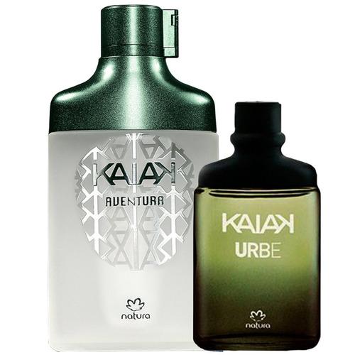 Perfume Kaiak Aventura Natura 100ml + Kaiak Urbe 25ml