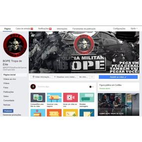Página Facebook Bope Tropa De Elite 1.100.000 Seguidores