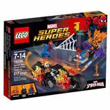 Lego Super Heroes 76058 Spiderman:alianza Motorista Fantasma
