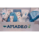Regalo Caja Ajuar Personalizada Nacimiento Bebe Babyshower