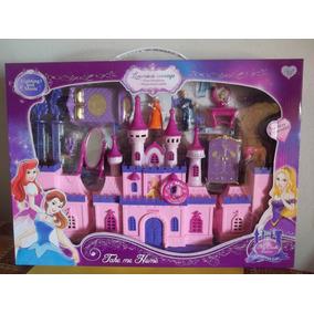 Castillo Princesas Con Luz Y Sonido Accesorios Excelente