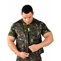 Colete Camuflado Exército Brasil - Original Loja Oficial