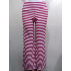Pantalones Bota Ancha Estampados Para Damas Tallas M Y L