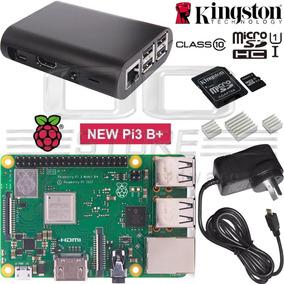 Raspberry Pi 3 B+ Plus Rs Uk Kit Completo 32gb