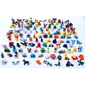 Lote Kit 24 Bonecos Miniatura Pokémon 2-3 Cm Diversos