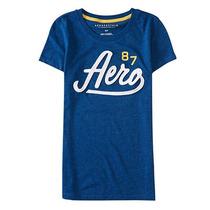 Camisa Blusa Malha Aeropostale Feminina - Original