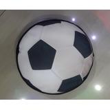 Cojines Pelota De Futbol Grande 32x32 Cm