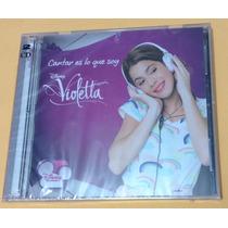 Violetta - Cantar Es Lo Que Soy - Cd + Dvd Disney
