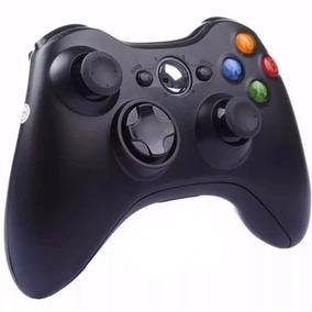 Kit Com 2 Controle Wireless Xbox 360 Slim Sem Fio