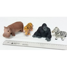 Set Animales De La Selva Juguetes Decoración Maquetas
