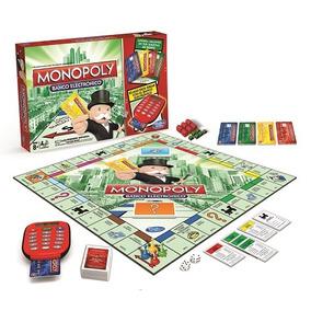 Juego De Mesa Monopoly Banco Electronico