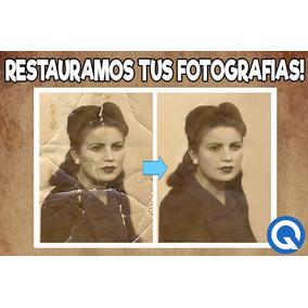 Restauración Fotografía Antigua O Foto Deteriorada
