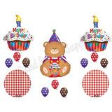 Teddy Bear Picnic Fiesta De Cumpleaños Globos Decoración Su