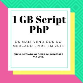 Pacote Scripts Php: 1 Gb Scripts, Lojas, Host, Sites