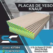 Placa De Yeso Knauf 9,5 Mm Servicersa