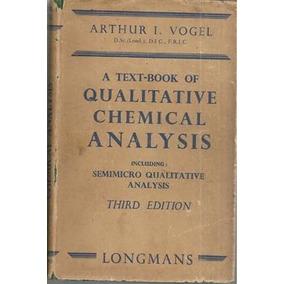 Livro ccaa tn 8 text booklcpfeitocd usado 1 vez livros usado livro a text book of qualitative chemical analysis fandeluxe Image collections
