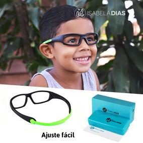 106c24a24dcf2 Armação Óculos Grau Infantil Flexivel Elastico Isabela Dias