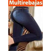 Jeans Levantacola Super Strech Talla 6 8 10 12 14