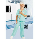 Disfraz Cotillon Niño Doctor O Cirujano Candela
