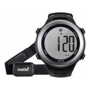 Reloj Instto Insport Cardio Pulsometro Sumergible + Cinturon