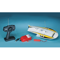 Mini Thunder Hydroplane Red Radio Control Rtr