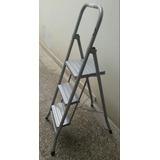 Escalera Metalica Plegable 3 Escalones Peldaños - V. Urquiza