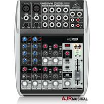 Mesa De Som Q1002usb Xenyx Behringer Mixer Q1002 Usb Q-1002